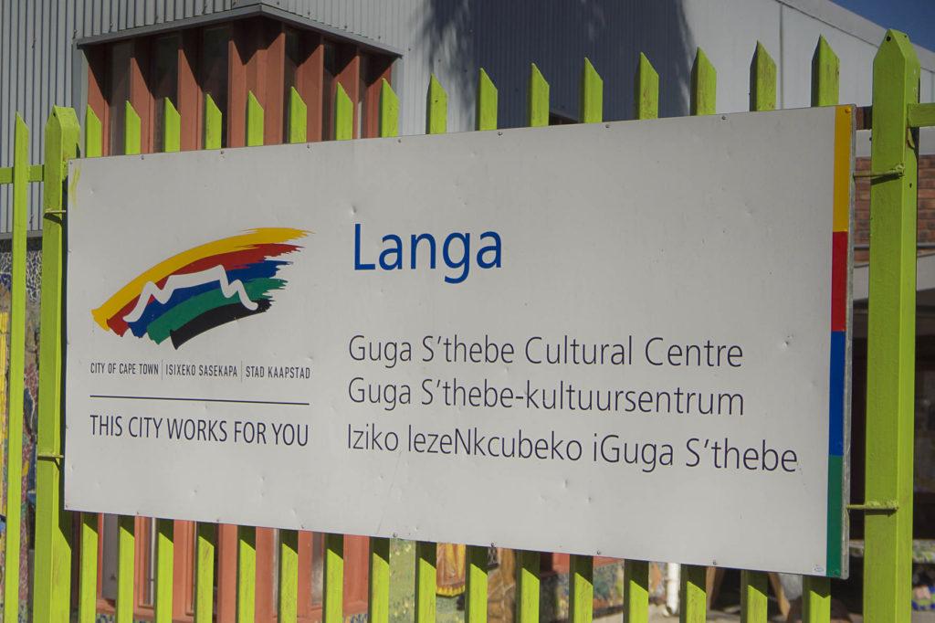 Township Langa in Kaapstad, nog heel veel armoede hier...